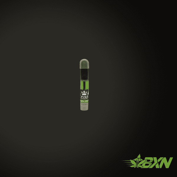 SOVRIN EXTRACTS VAPE PEN REFILL CARTRIDGE – GREEN CRACK - CLEAR THC