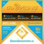 Diamond Concentrates Shatter White Rhino