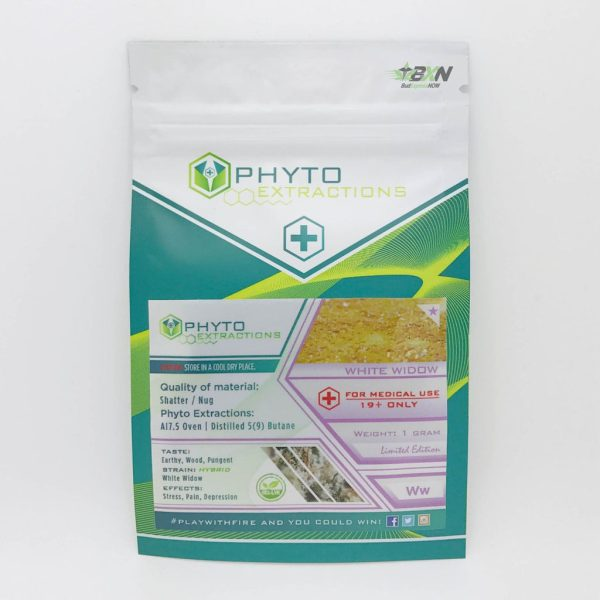 Phyto Extractions Shatter White Widow