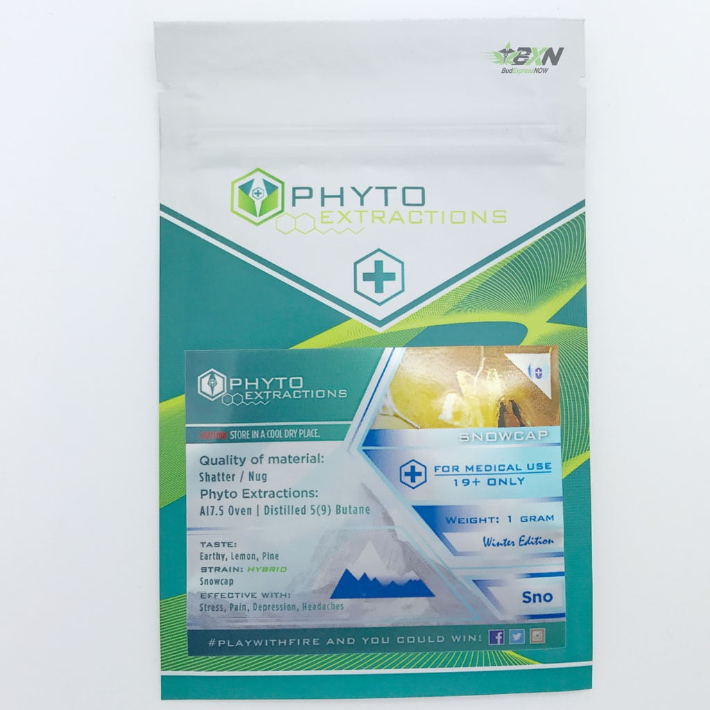 Phyto Extractions Shatter Snowcap