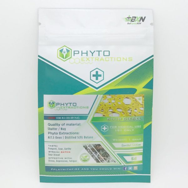 Phyto Extractions Shatter Sour Diesel