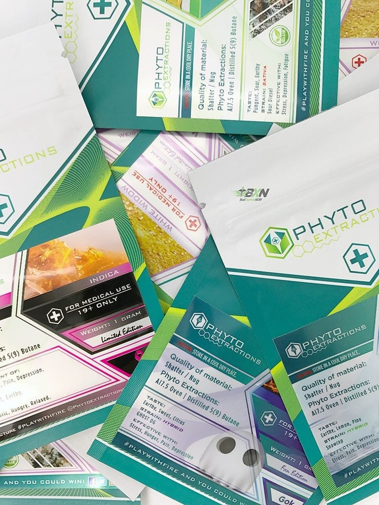 Phyto Extractions Shatter Sample Pack
