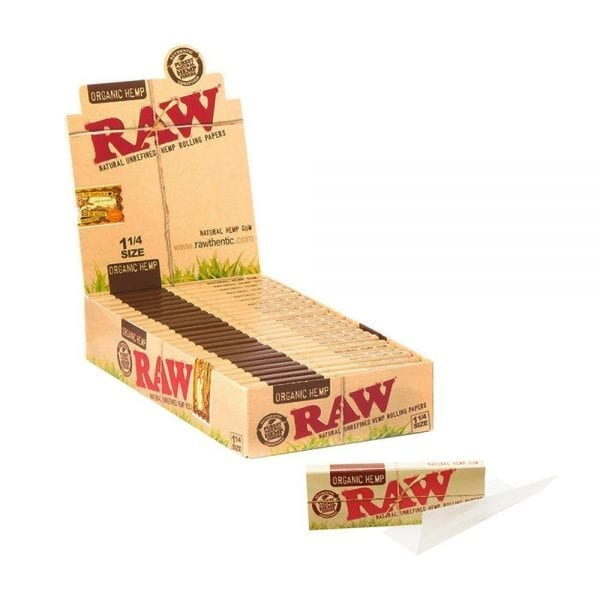RAW Organic Rolling Papers