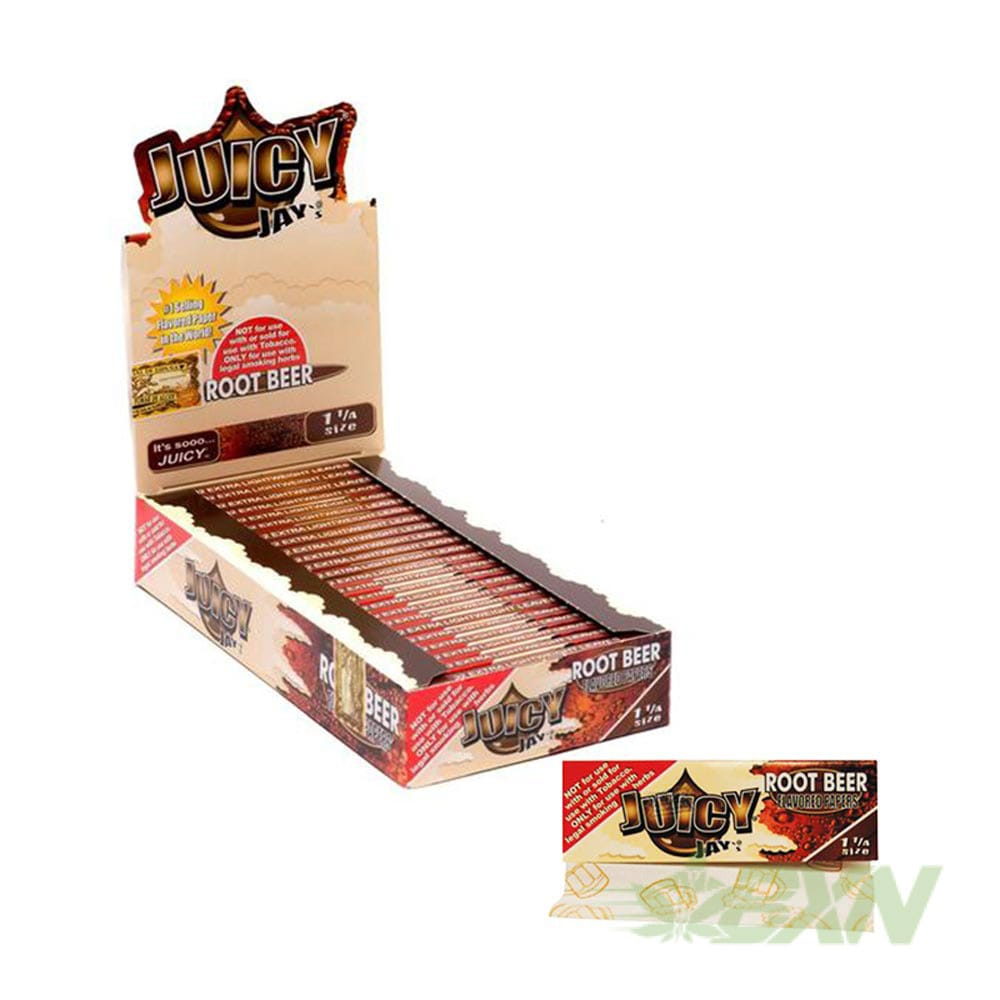 Juicy Jay's Flavored Rolling Papers - Root Beer