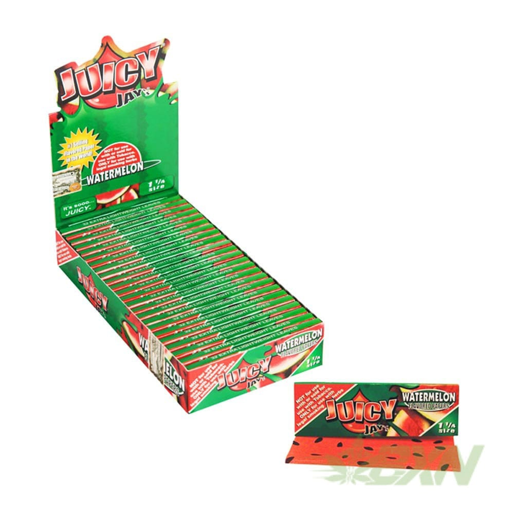 Juicy Jay's Flavored Rolling Papers - Watermelon