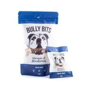 Bully Bites CBD Pet Treats – Venison & Blueberries