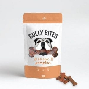 Bully Bites CBD Pet Treats – Turmeric & Pumpkin