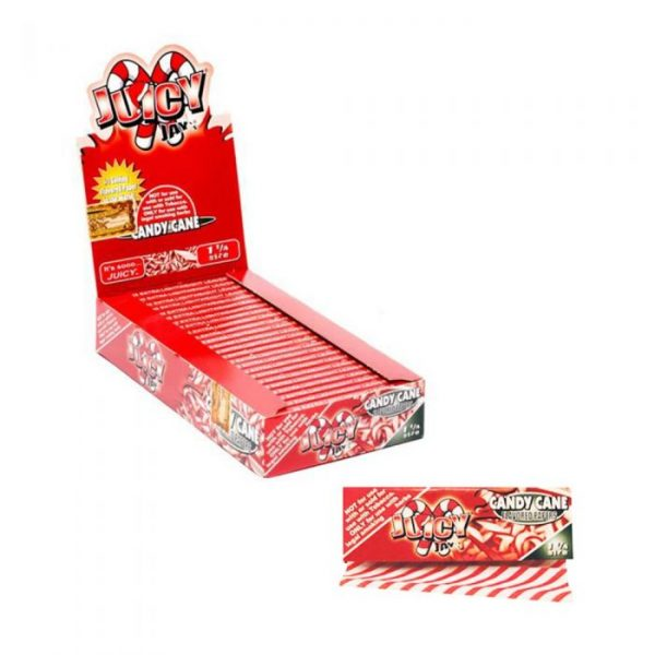 Juicy Jay's Flavored Rolling Papers - Candy Cane
