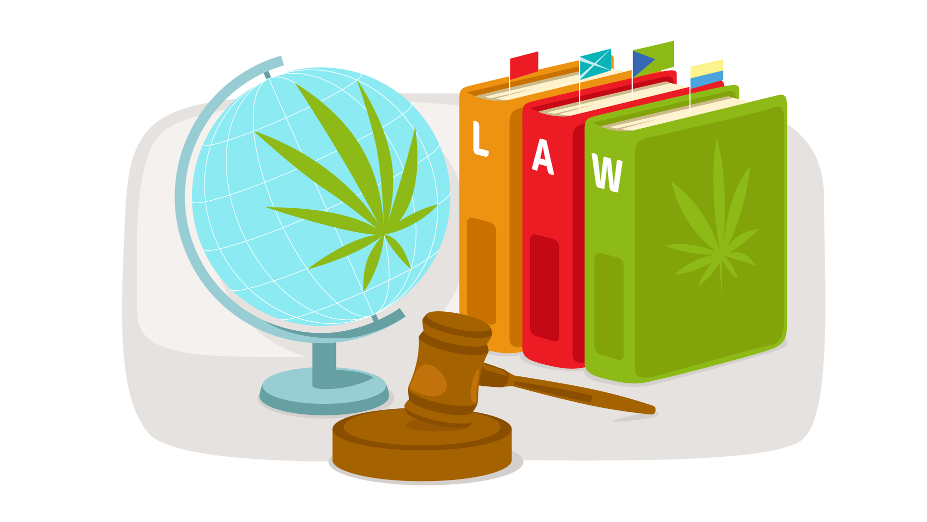CBD Laws around the world