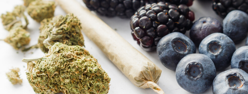 Pairing Cannabis With Grapes Or Berries